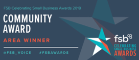 FSB Community award area winner 2018
